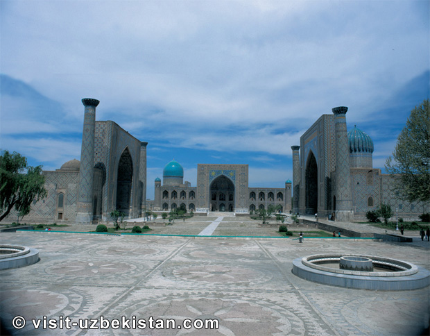 Samarkand Registan Square 2